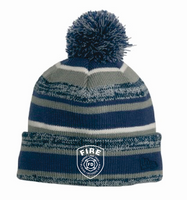 SBM Fleece Line Knit Pom Hat