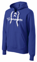 TempWorks Software Lace Up Pullover Sweatshirt