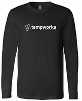 TempWorks Software Long Sleeve Jersey Tee