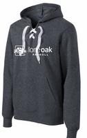 Lone Oak Lace Up Pullover Sweatshirt