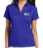 Copy of City of Hastings Ladies Performance Fine Jaquard Polo
