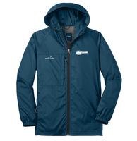 Lone Oak Payroll Unisex Packable Wind Jacket