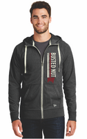 Busted Nut Unisex Heather Zip Hoodies
