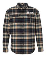 Loan Oak Payroll Long Sleeve Flannel Shirt