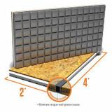 Amdry Insulated Subfloor panel -OSB