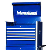 27 Inch Professional Series 5 Drawer Tool Chest; Blue
