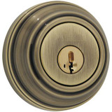 9471 Single Cylinder Deadbolt in Antique Brass