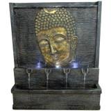28 Inch Buddha Fountain