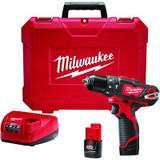 M12™ 3/8 Inch  Hammer Drill/Driver Kit