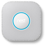 Nest Protect 2nd Gen Smoke + Carbon Monoxide Alarm; Battery (White)