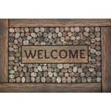 2 Feet x3 Feet Framed Welcome Mat