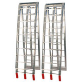 Job Pro Folding Aluminium Ramps (Silver)