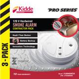 Smoke Alarms - 3 Pack Ionization