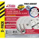 Combination Alarms - 3 Pack Talking
