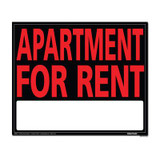 19 X 24 Jumbo Sign - Apartment For Rent