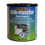 Dek-Patch Filler is used for prepping and filling the plywood surface for the dek-master system.