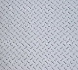 5 Feet x 3 Feet Metallic Silver Diamond Deck Door Mat