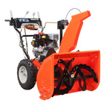 Deluxe 120V Electric Start Gas Snow Blower with 28-Inch Clearing Width