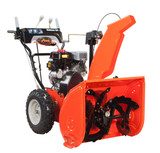Deluxe 24 Two-Stage Electric Start Gas Snow Blower with 24-Inch Clearing Width