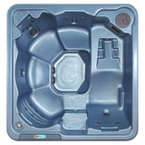 Daytona Blue Denim 6-Person 30-Jet Spa with Polar Insulation. and Hard Cover