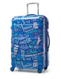 "American Tourister International 27"" Expandable Spinner Suitcase - BLUE - 25"