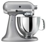KitchenAid Artisan 5-Quart Stand Mixer Silver Metallic