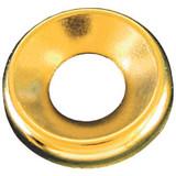 #8 Brass Finish Washer Plain