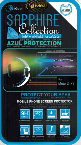 iGear Azul blue light screen protector cover