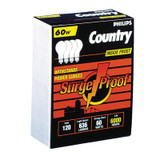60W A19 Clear Surge Proof 4 Pack