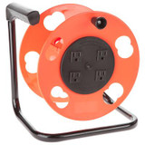 Add-A-Cord Cord Storage Reel With 4 Outlets – 15 Amp