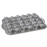 Cast Aluminum Shortcake Baskets Baking Pan Tea-Cake and Candy Mold