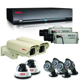 REVO America Commercial Grade Surveillance Bundle with a 3TB 16 Channel DVR and 8 Cameras