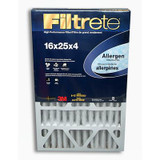 3M Filtrete 16x25x4 Allergen Reduction Filter