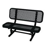 3 ft Commercial Preschool Bench- Black