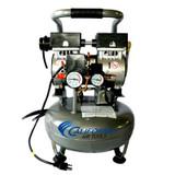 3010 1.0 HP  3.0 Gal Ultra Quiet Oil-Free Steel Tank Air Compressor