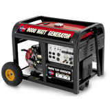 9000 Watt Peak 15HP Generator with Mobility Kit