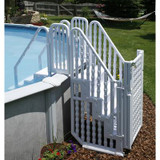 Easy Step Entry System With Gate