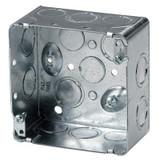 4 In. Square Box 2-1/8 In. Deep KO