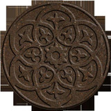 18 Inch Round SCROLL EARTH Stepping Stone