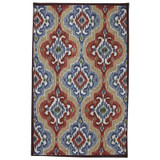 Mystic Ikat Primary 60 Inch x 96 Inch Rug