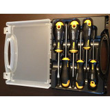 6 Pcs.Screwdrivers Set with  Ergonic Handle in Plastic Box