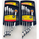 12 PC Ratcheting Wrench Set