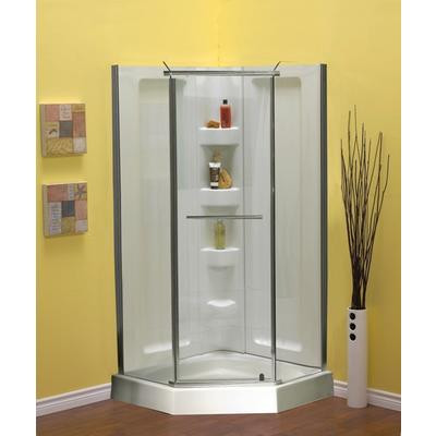 Sorrento 38 Inch Acrylic Neo Angle Shower Package Vella Ca