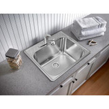 Essential Laundry Tub 3 Hole - Stainless Steel
