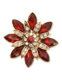 Jones New York Boxed Colour Burst Pin - Red