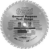 FREUD 10 In. General Purpose Blade - 40 Teeth