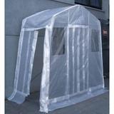 Entranceway Shelter 8 Feet x5 Feet  Clear Roof