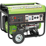 6000 Watt 13HP Peak OHV Propane Powered Generator