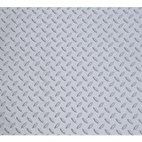 7.5 Feet x 20 Feet Metallic Silver Large Car Mat