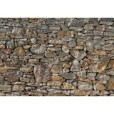 12 Feet 1 Inches x 8 Feet 4 Inches Stone Wall Mural